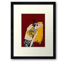 Hedwig Singing Framed Print