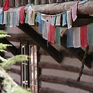 Prayer Flags by Mona Shiber