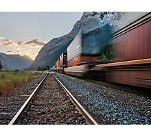 Along Kicking Horse Pass Photographic Print