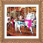 Breast cancer Awareness Carousel by Deb  Badt-Covell