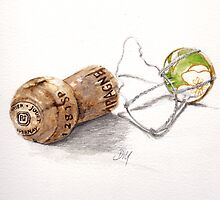 Champagne cork by debramorris