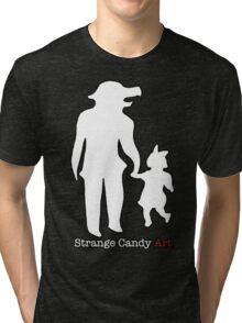 Strange Candy Art Tri-blend T-Shirt
