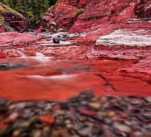 Really Red Rock by James Wheeler
