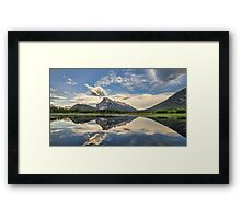 Vermilion Lakes Side Road Framed Print