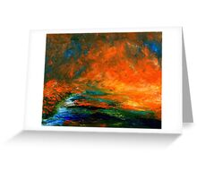 Sunlight on the Water by John E Metcalfe Greeting Card