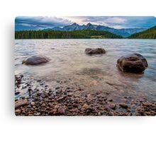 Two Jack Lakeside View Canvas Print