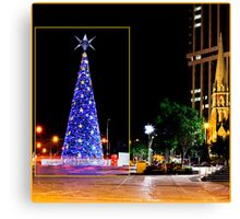 It's beginning to look a lot like Christmas... Canvas Print
