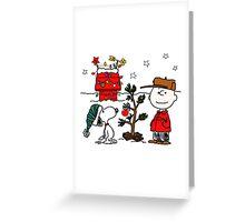 Snoopy Christmas Greeting Card