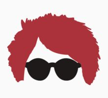 Gerard Way Red Hair & Glasses Kids Clothes