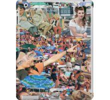 Crowded Beach. iPad Case/Skin