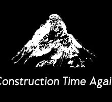 DM : Construction Time Again - White by Luc Lambert