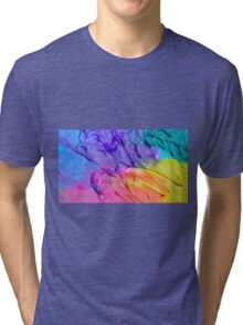 Rainbow Frosting! Tri-blend T-Shirt