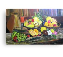 ©AeroArt Bodegon Oil I Canvas Print