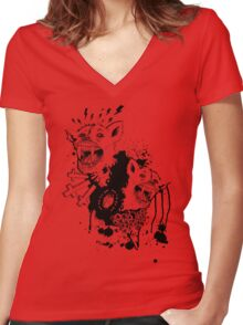 Superstition Women's Fitted V-Neck T-Shirt