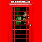 British Red Phone Booth - iphone 5, iphone 4 4s, iPhone 3Gs, iPod Touch 4g case by pointsalestore Corps