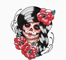 Day of the Dead Sugar Skull Girl Tattoo Flash Shirt Unisex T-Shirt