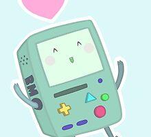 BMO loves you! by KawaiiCallie