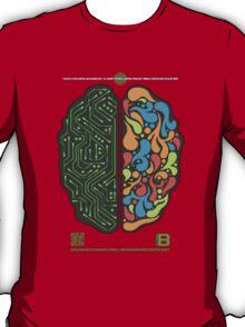 DEC 2012 MERCH LEFT RIGHT HEMISPHERE VISUALLY EXPLAINED T-Shirt