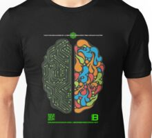 DEC 2012 MERCH LEFT RIGHT HEMISPHERE VISUALLY EXPLAINED Unisex T-Shirt