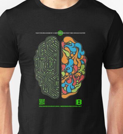 DEC 2012 MERCH LEFT RIGHT HEMISPHERE VISUALLY EXPLAINED Unisex T-Shirt
