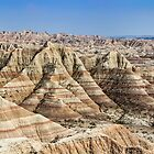 Badlands National Park - South Dakota by Mary Warner