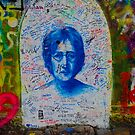 John Lennon Wall by BLImages