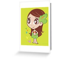 MELE-PRINCESS OF THE JUNGLE Greeting Card