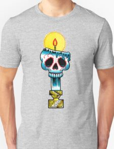 Muerte Candle - Day of the Dead Tattoo Flash T-Shirt