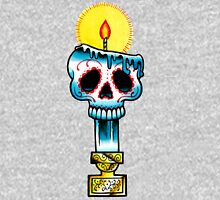 Muerte Candle - Day of the Dead Tattoo Flash Unisex T-Shirt