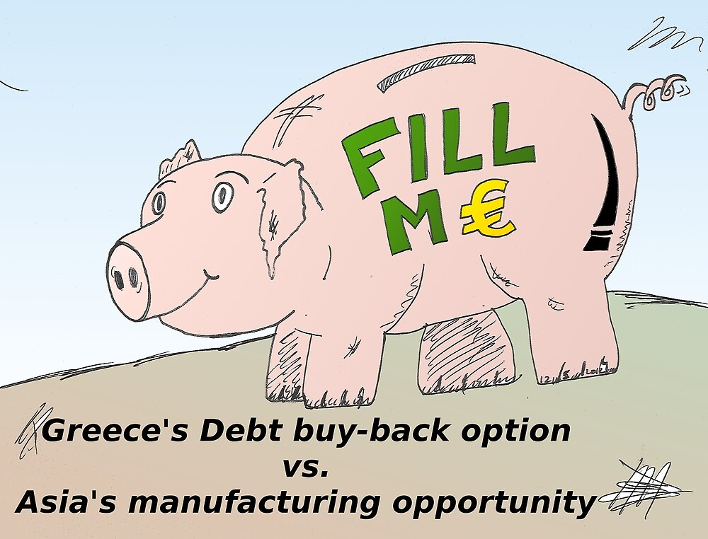 Piggybank business comic strip panel by Binary-Options