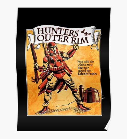 Bounty Hunters of the Outer Rim Poster