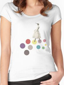 Bird Lady Women's Fitted Scoop T-Shirt