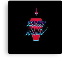 Dead Man Money Logo Canvas Print