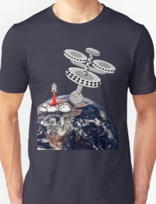 Space Station Around the Earth T-shirt T-Shirt