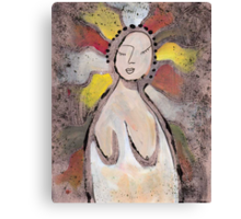 Primitive Nude 1 Canvas Print