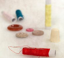 sewing supplies by Joana Kruse