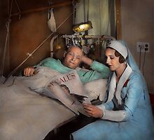 Nurse - Comforting thoughts 1933 by Mike  Savad