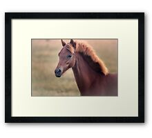 I Whispered Your Name, and In a Blink You Were There Framed Print