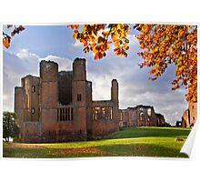 Autumn at Kenilworth Castle Poster