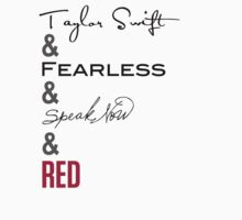 Taylor Swift Albums by marissaleighxo