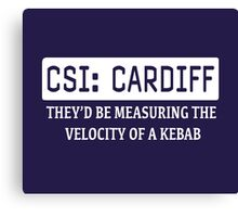 CSI Cardiff Canvas Print
