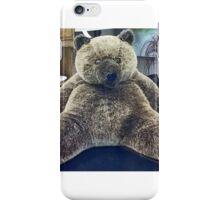 BIG BIG CHRISTMAS BEAR iPhone Case/Skin