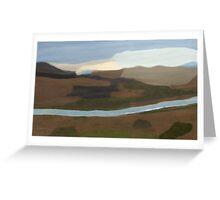 La Verkin Lookout - Utah Greeting Card