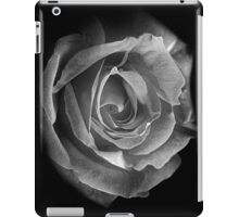 Rose BW iPad Case/Skin