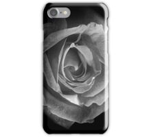 Rose BW iPhone Case/Skin