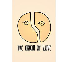 The origin of love Photographic Print