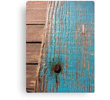 Rusty timber Canvas Print