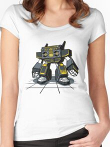 GHETTOBOT Women's Fitted Scoop T-Shirt