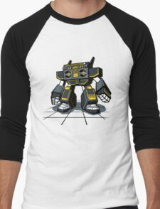 GHETTOBOT Men's Baseball ¾ T-Shirt