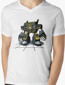 GHETTOBOT Mens V-Neck T-Shirt